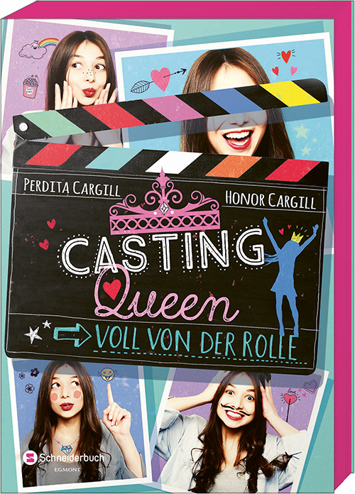 Cover vom Buch 'Casting Queen + Elektras Casting-Tipps'