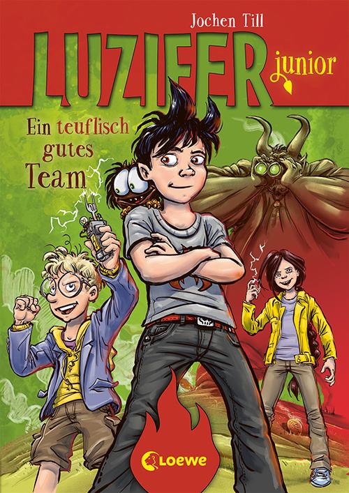 Cover vom Buch'Luzifer junior – Ein teuflisch gutes Team'