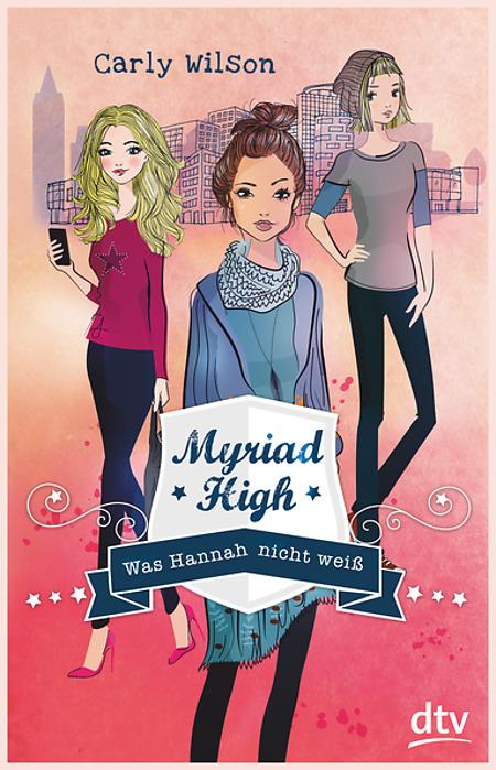 Cover vom Buch'Myriad High'