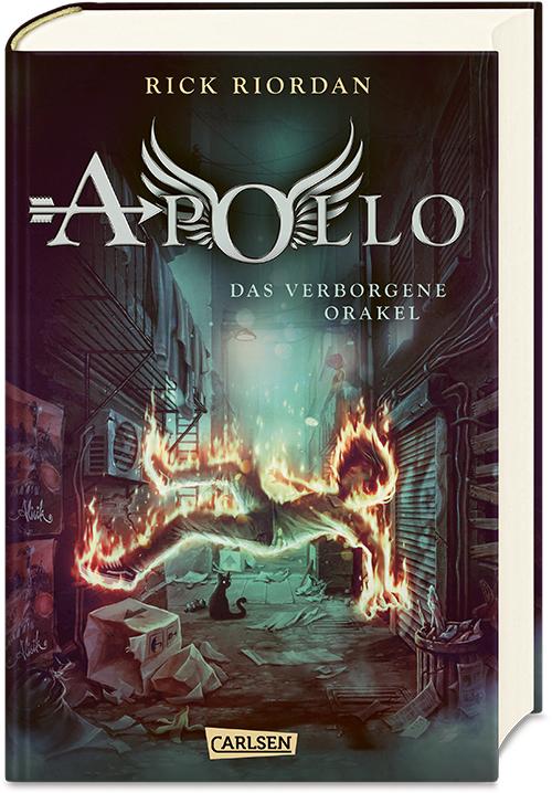 Cover vom Buch 'Die Abenteuer des Apollo'