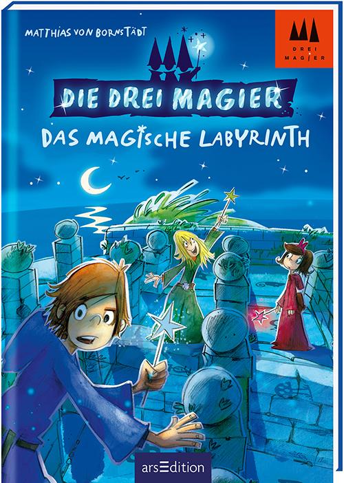 Cover vom Buch 'Die drei Magier'