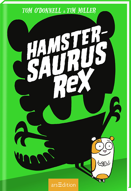 Cover vom Buch'Dino-Hamster im Klassenzimmer'