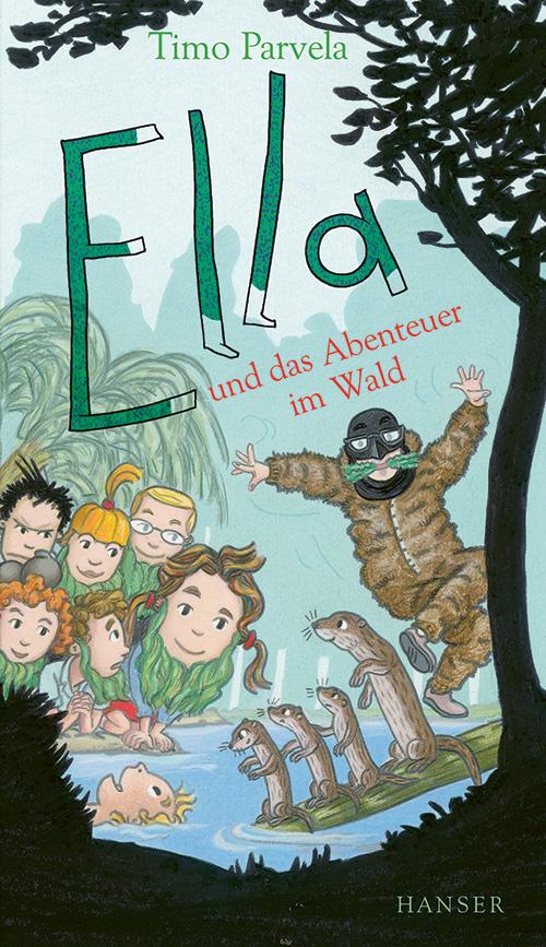 Cover vom Buch'Ella und das Abenteuer im Wald'