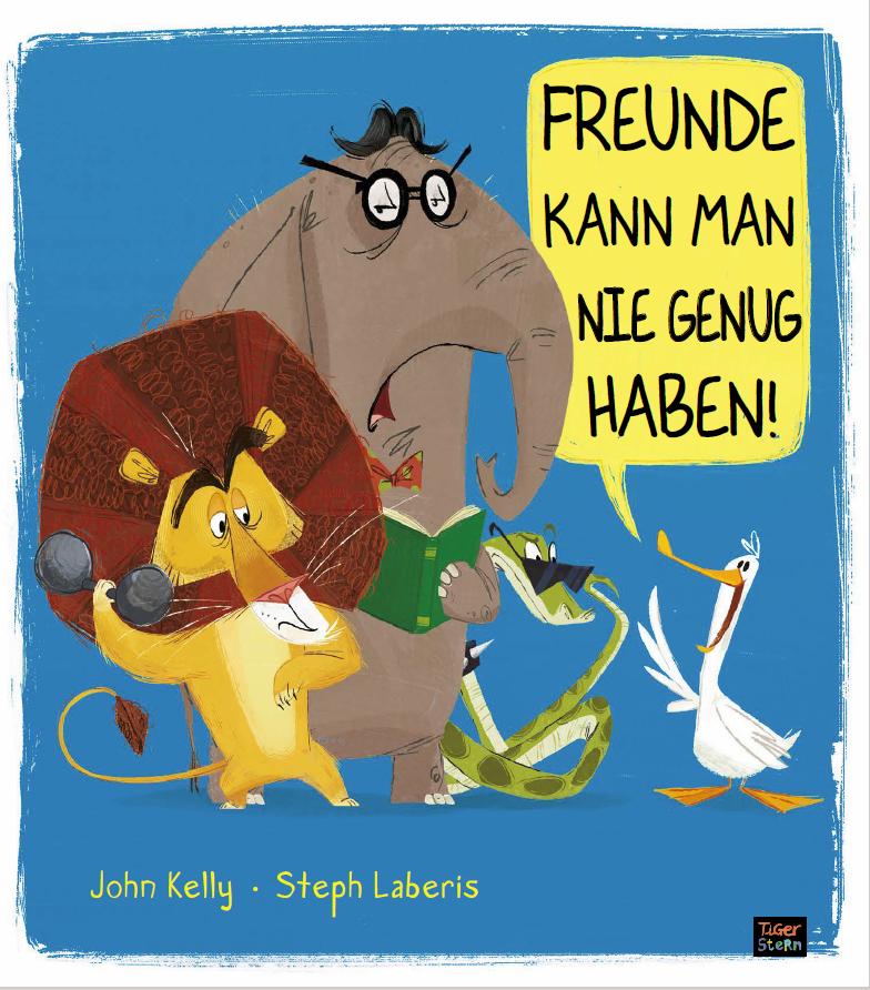 Cover vom Buch 'Freunde kann man nie genug haben!'