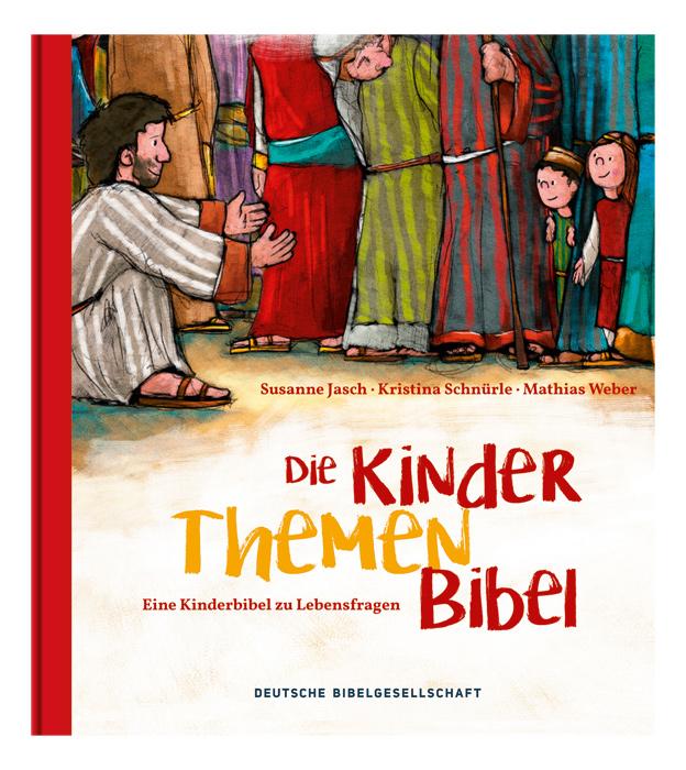 Cover vom Buch 'Die Kinder-Themen-Bibel'