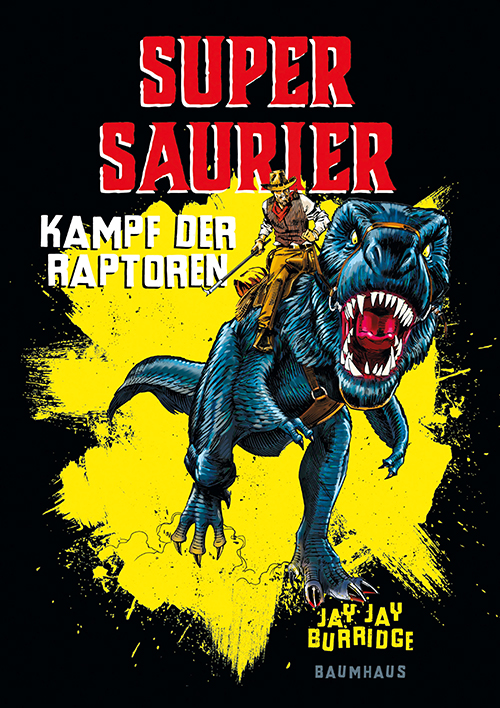 Cover vom Buch 'Supersaurier'