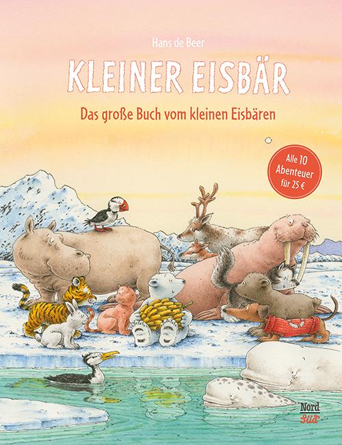 Cover vom Buch 'Das große Buch vom kleinen Eisbär'