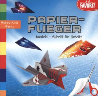 Cover Papierflieger basteln - Schritt für Schritt