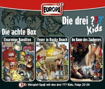 Cover Die drei ???-Kids, 3er Box, Box.8