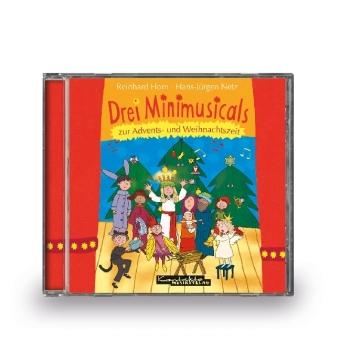 Cover Drei Minimusicals zur Advents- und Weihnachtszeit