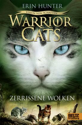Cover Warrior Cats - Vision von Schatten. Zerrissene Wolken
