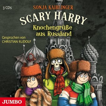 Cover Scary Harry - Knochengrüße aus Russland