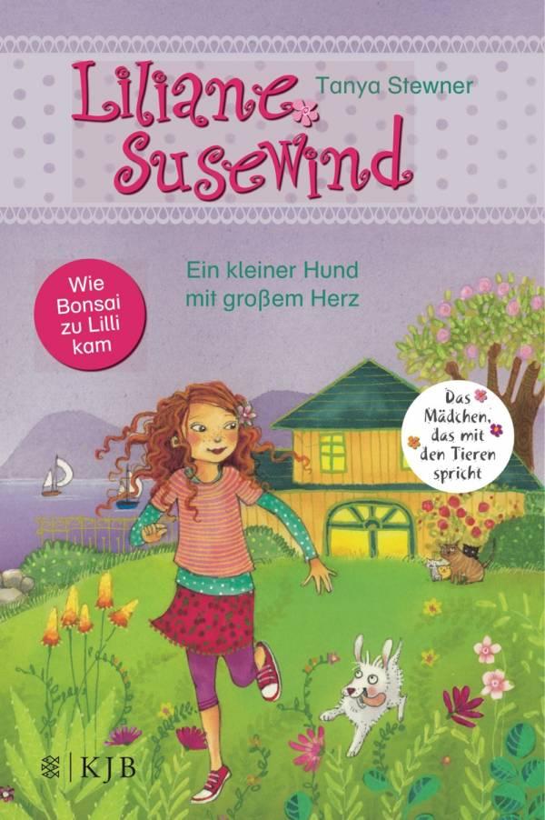 Cover vom Buch 'Liliane Susewind und ihr Hund Bonsai'