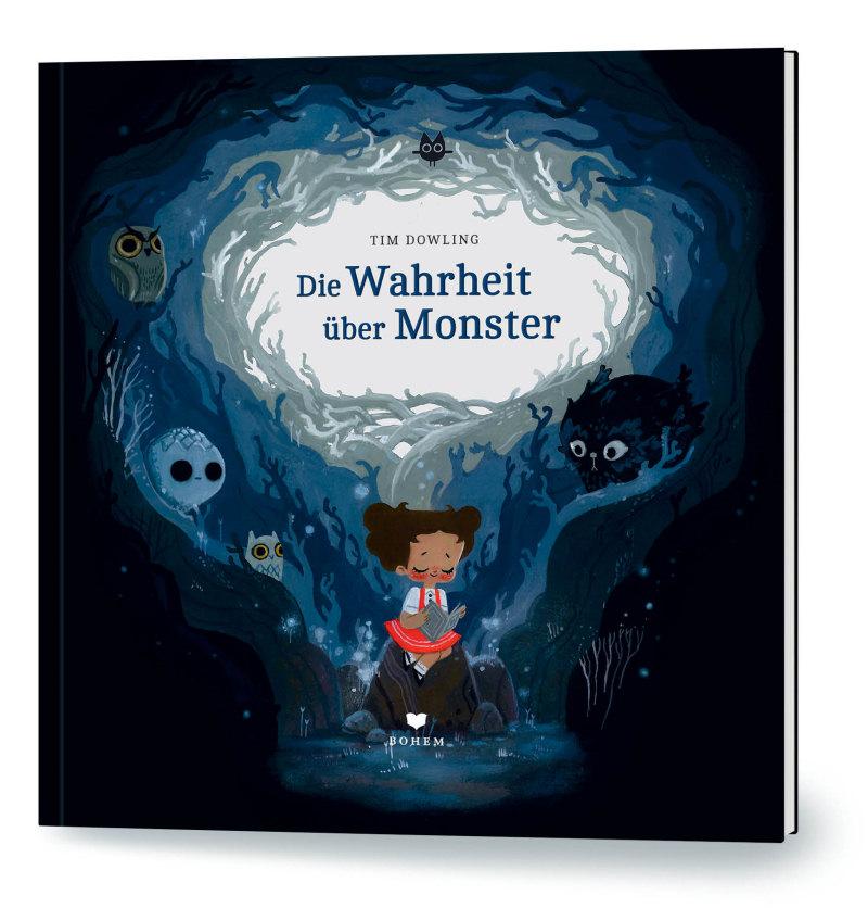 Cover vom Buch 'Die Wahrheit über Monster'
