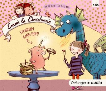 Cover  Emmi & Einschwein. Einhorn kann jeder!, 3 Audio-CDs