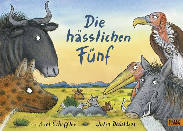 Cover vom Buch'Helenas Buchtipp: Die hässlichen Fünf'