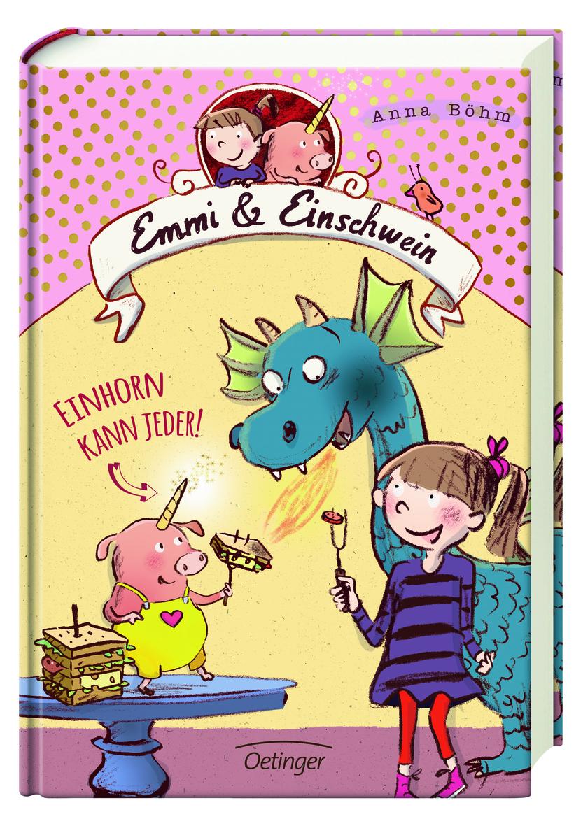 Cover Emmi & Einschwein. Einhorn kann jeder!