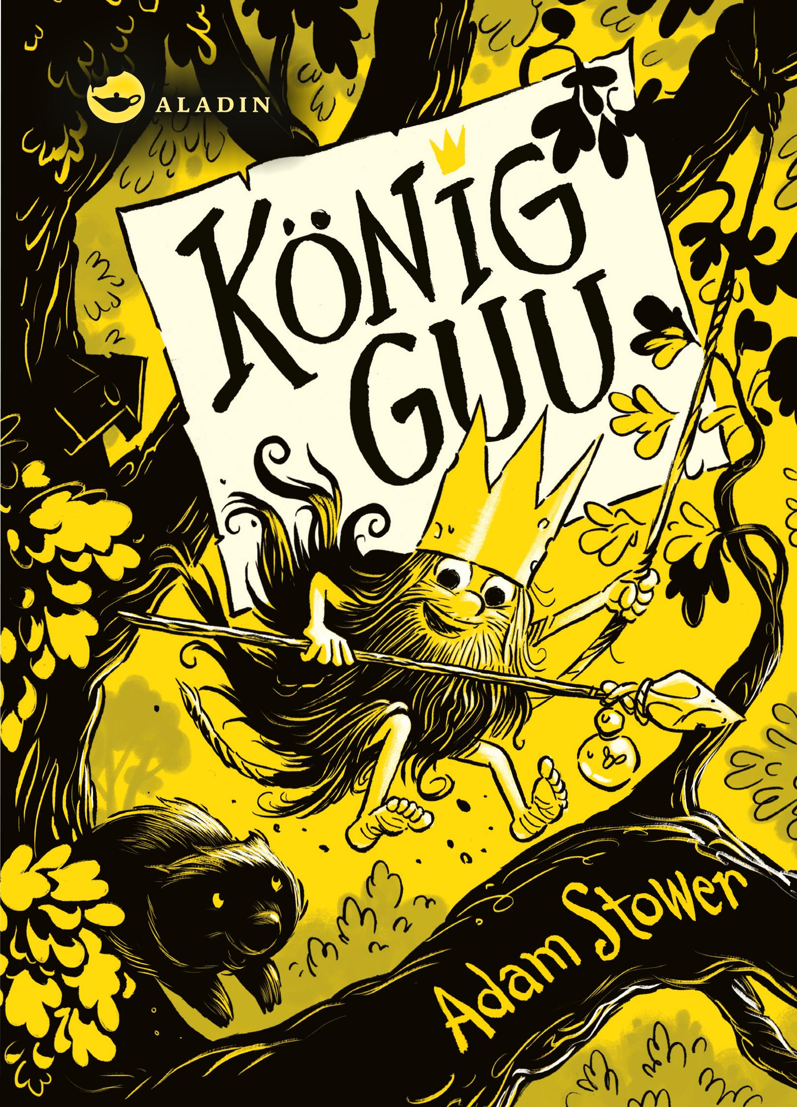 Cover vom Buch 'König Guu – Mal dir Baumhaus und Bart!'