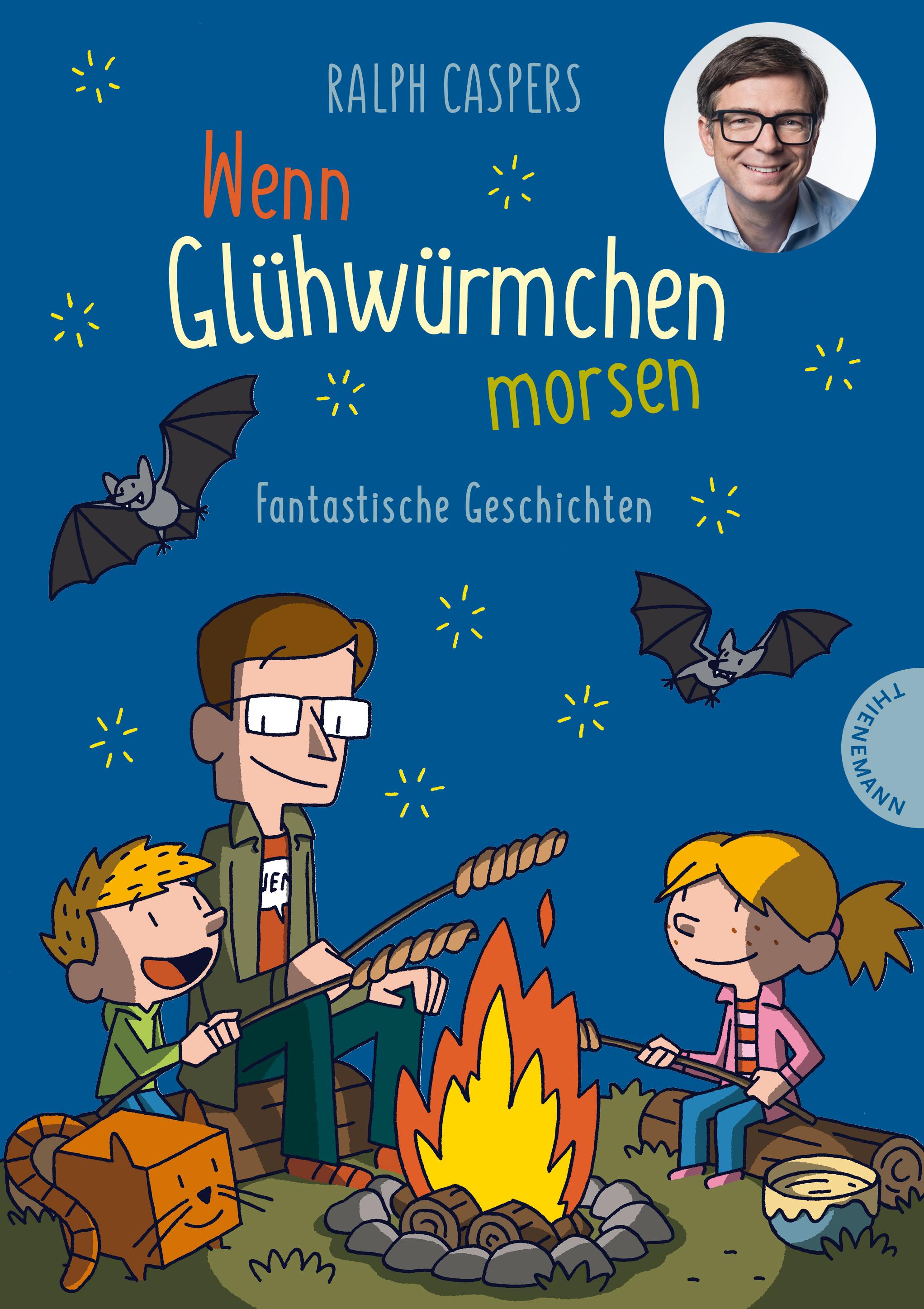 Cover vom Buch 'Vorgelesen: Wenn Glühwürmchen morsen'