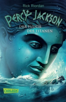 Cover Percy Jackson, Der Fluch des Titanen