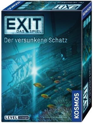 Cover vom Buch 'Avas Spieletipp: Exit – Der versunkene Schatz'