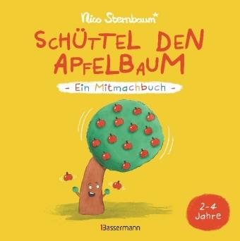 Cover Schüttel den Apfelbaum - Ein Mitmachbuch