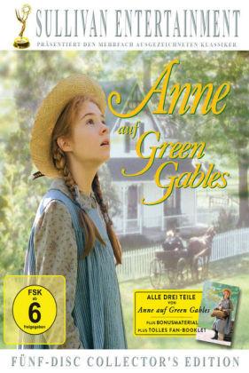 Cover Anne auf Green Gables