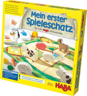 Cover Mein erster Spieleschatz