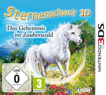 Cover Sternenschweif 3D - Das Geheimnis im Zauberwald