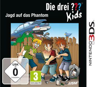 Cover Die drei ??? Kids - Jagd auf das Phantom