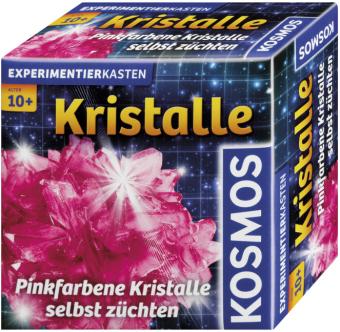 Cover Pinkfarbene Kristalle selber züchten