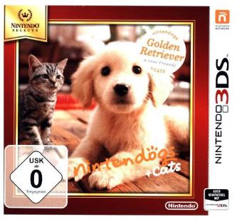 Cover Nintendogs + Cats, Golden Retriever & Neue Freunde