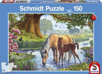 Cover Pferde am Bach (Kinderpuzzle)