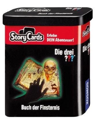 Cover Die drei ??? Storycards - Buch der Finsternis