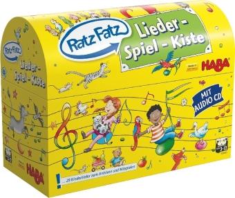Cover Ratz Fatz Lieder-Spiel-Kiste