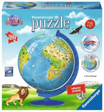 Cover Puzzleball, Kinderglobus in deutscher Sprache