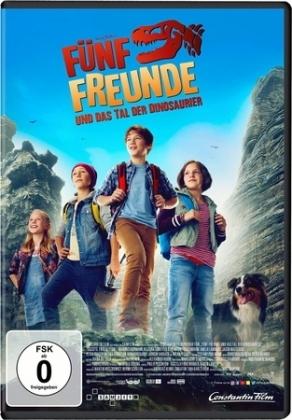 Cover Fünf Freunde und das Tal der Dinosaurier