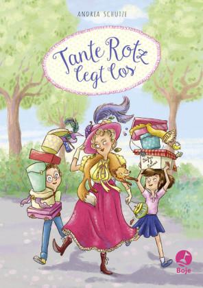 Cover vom Buch'Lesen & Naschen: Tante Rotz legt los'