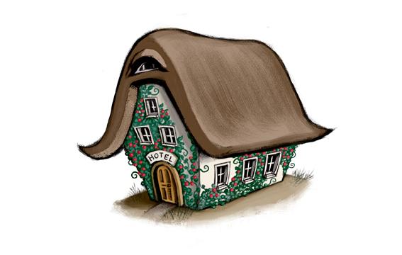 Das Hotel der verzauberten Träume / Illustration: Gloria Jasionowski