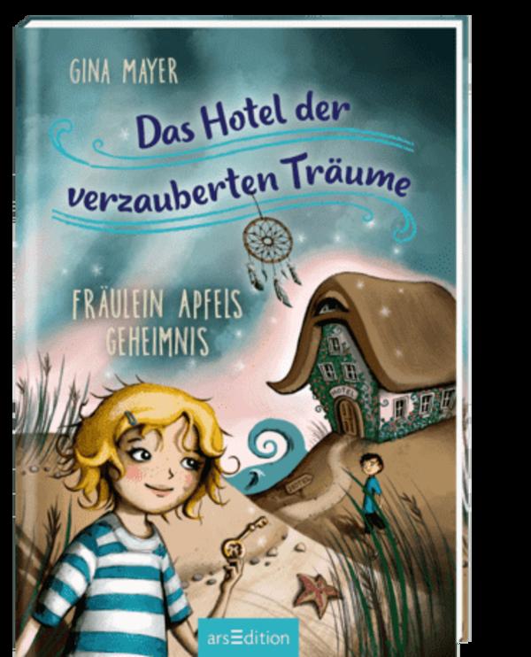Cover vom Buch 'Basteln & Lesen: Das Hotel der verzauberten Träume'
