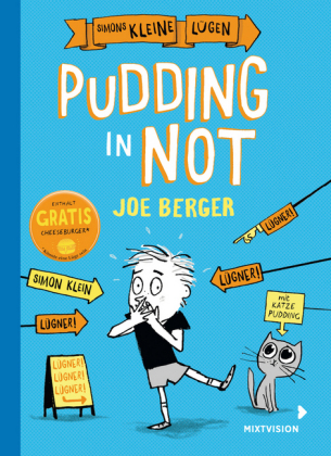 Cover Simons kleine Lügen – Pudding in Not