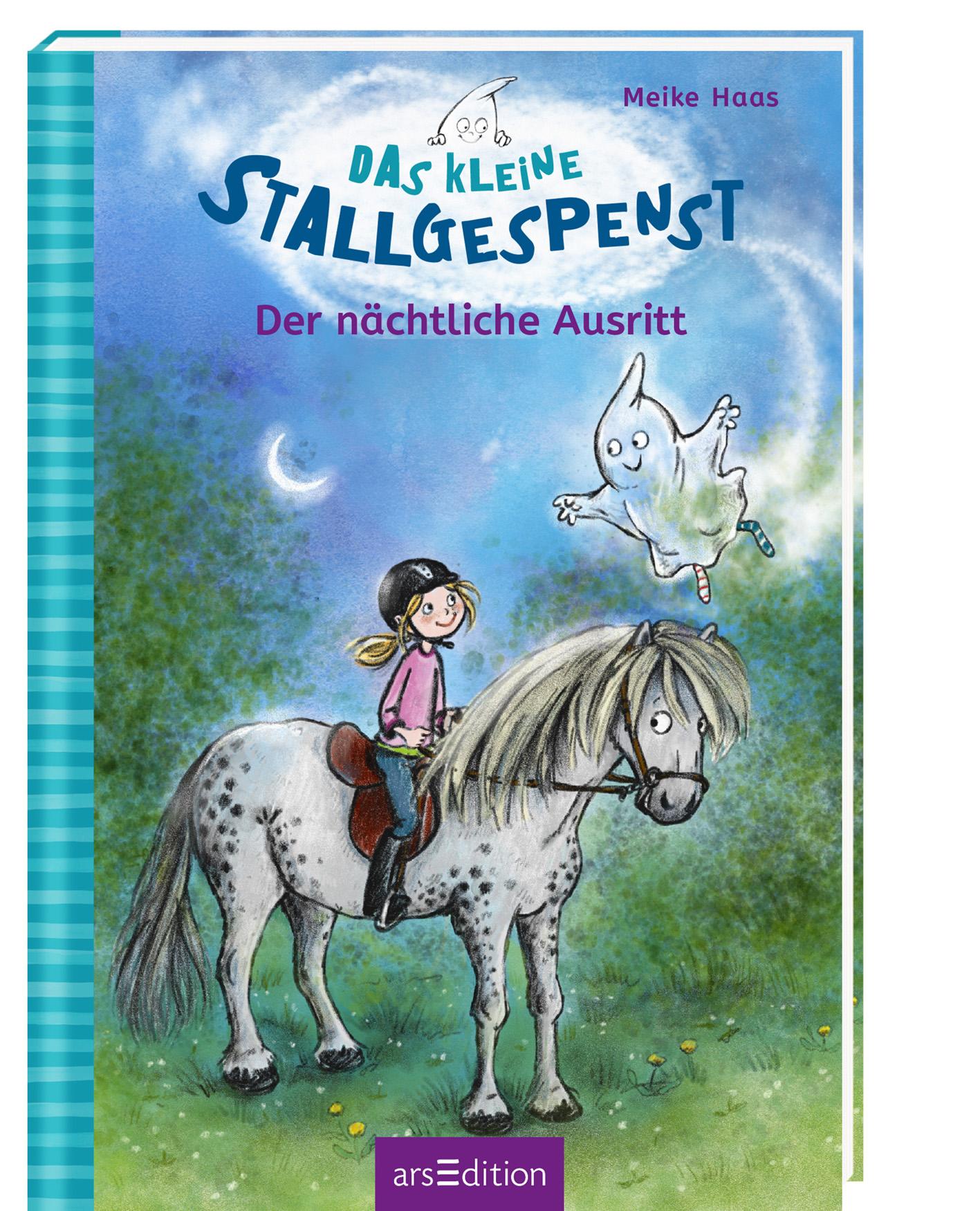 Cover Das kleine Stallgespenst Der nächtliche Ausritt (Bd. 1)