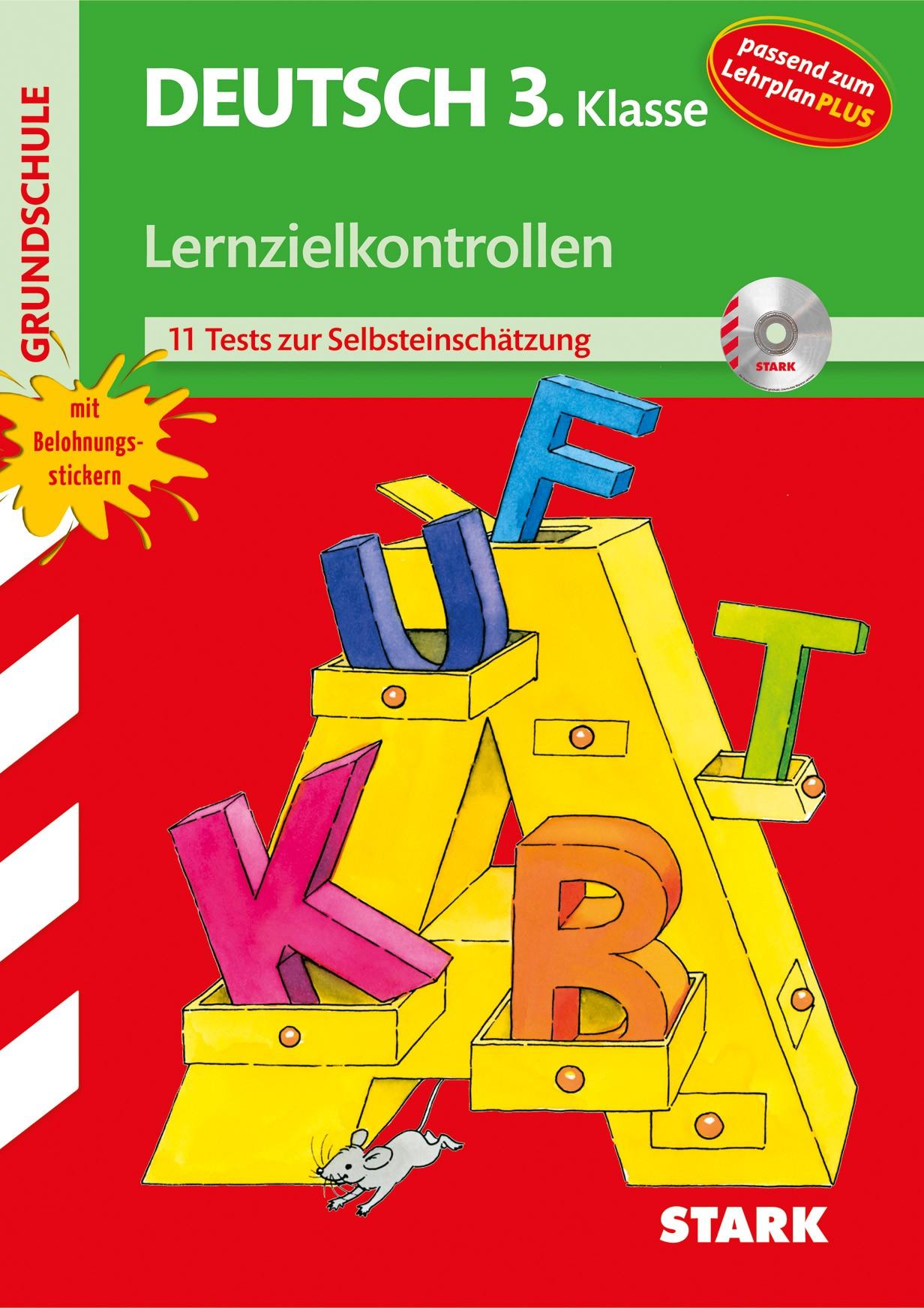 Cover Lernzielkontrollen Grundschule - Deutsch 3. Klasse