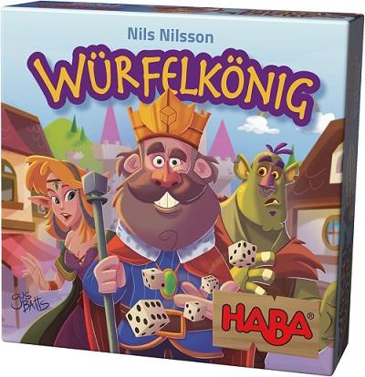 Cover vom Buch'Spiel mit HABA: Würfelkönig'