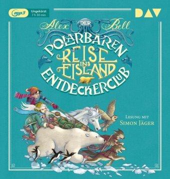 Cover Der Polarbären-Entdeckerclub - Reise ins Eisland, 1 MP3-CD