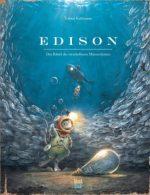 """Cover vom Buch'Avas Buchtipp: """"Edison – Das Rätsel des verschollenen Mauseschatzes""""'"""