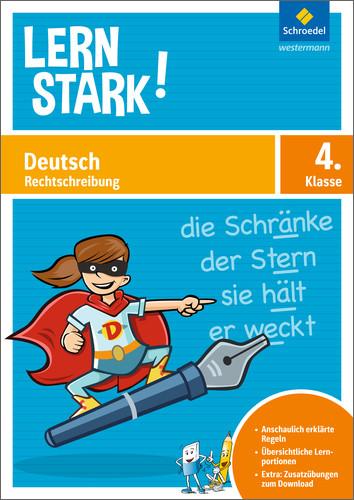 Cover Deutsch Rechtschreibung 4. Klasse