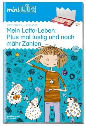 Cover Mein Lotta-Leben: Plus mal lustig und noch mähr Zahlen.