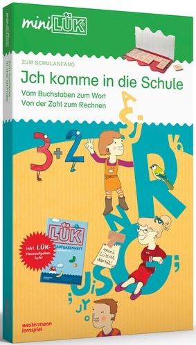 Cover vom Buch'Ich komme in die Schule: Lesen und Rechnen mit miniLÜK'