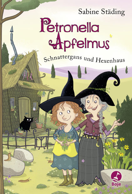 Cover Petronella Apfelmus Schnattergans und Hexenhaus